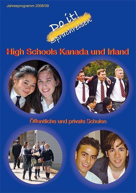 Sprachreisekatalog für High-School-Besuche